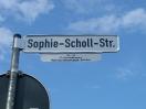 Sophie Scholl Straße in Dorfen